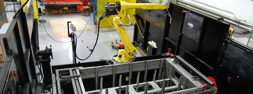 Robotic weld-Accu-Fab